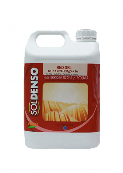 Red Gel 18+11+59+2MgO+TE
